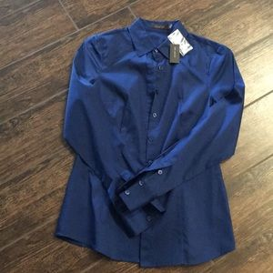 NWT The Limited gorgeous jewel tone blue Small